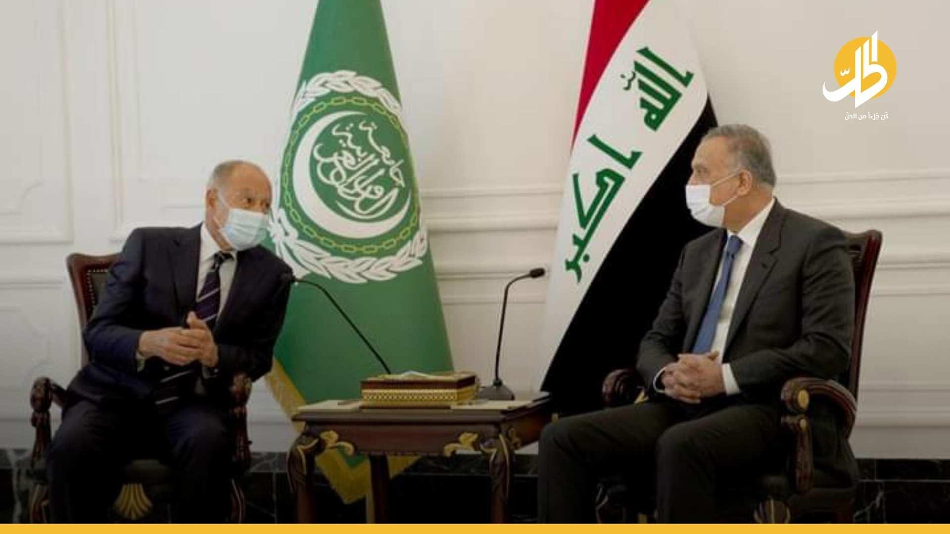 القصّة الكاملة لزيارة الأمين العام للجامعة العربية إلى العراق