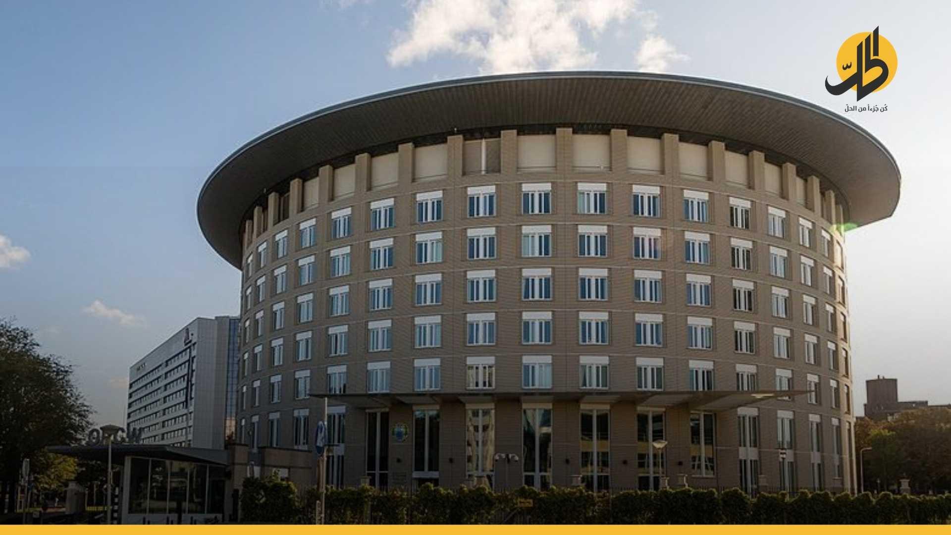 سوريا تفقد حقوق التصويت في منظمة مراقبة الأسلحة الكيماوية بعد تورطها في استخدام غازات سامة