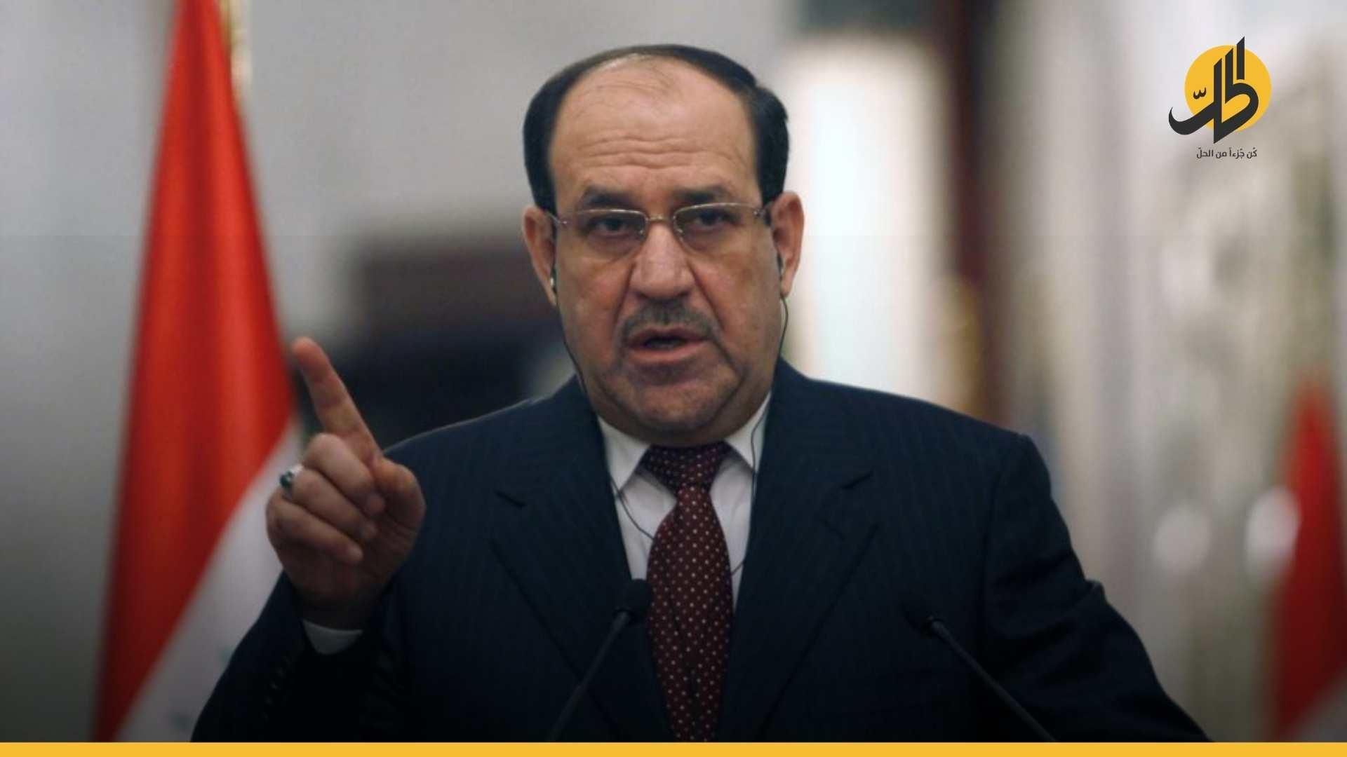 """""""المالكي"""" يَرد على المُنسَحبين: موقفكُم لَن يُفرضَ علَينا والانتخابات ستُجرى بمَوعدها"""