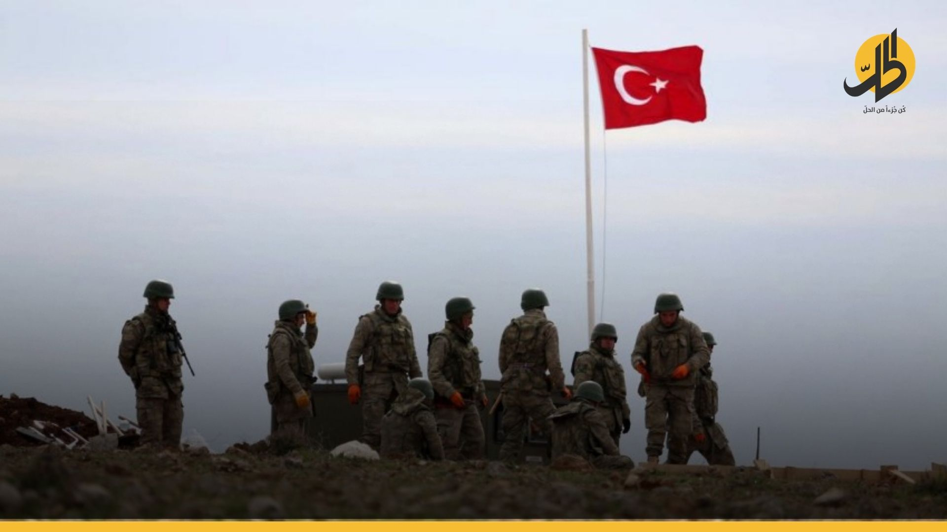 """مقتل جندي تركي في """"نينوى"""" بقصف صاروخي على قاعدة عسكرية"""