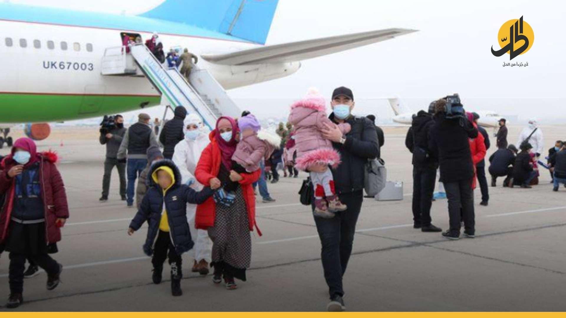"""«الإدارة الذاتية» تسلّم أوزبكستان نحو مئة امرأة وطفل من عائلات """"داعش"""""""