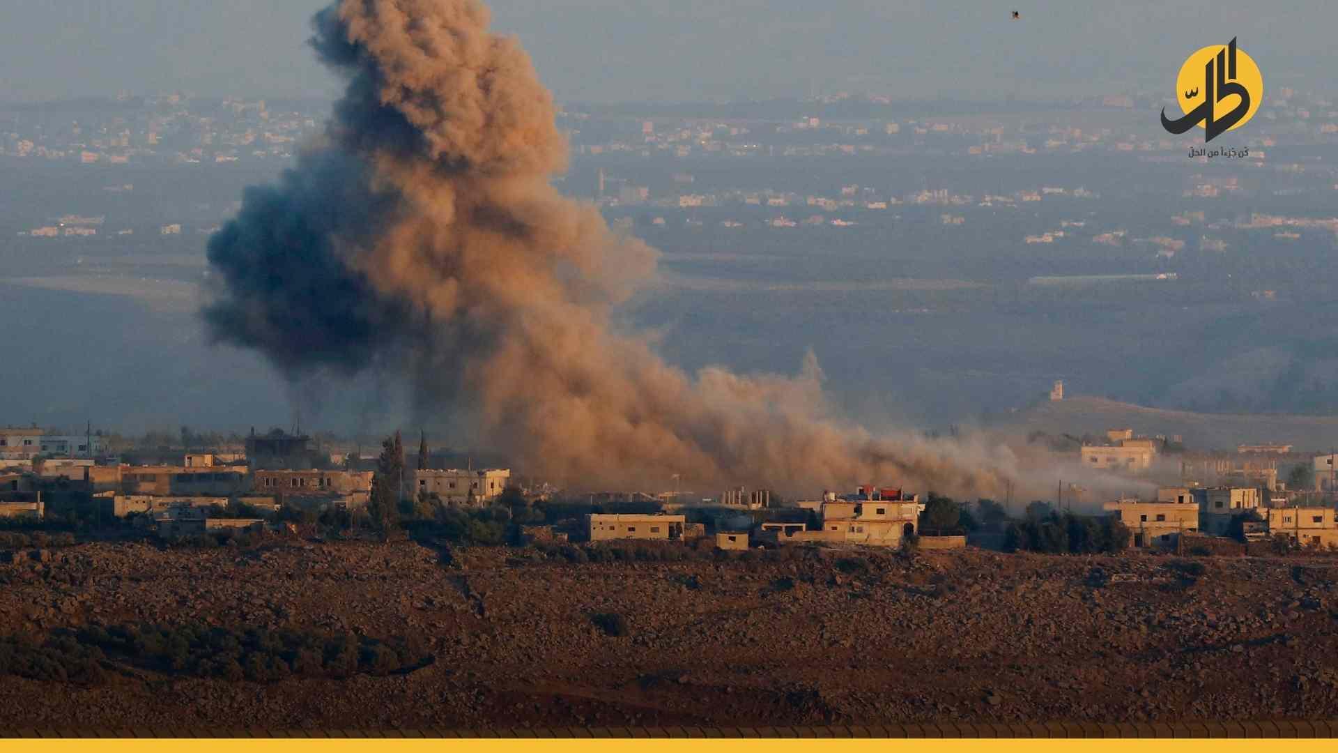 بعد منشوراتها.. إسرائيل تستهدف منزلاً في قرية شمال القنيطرة
