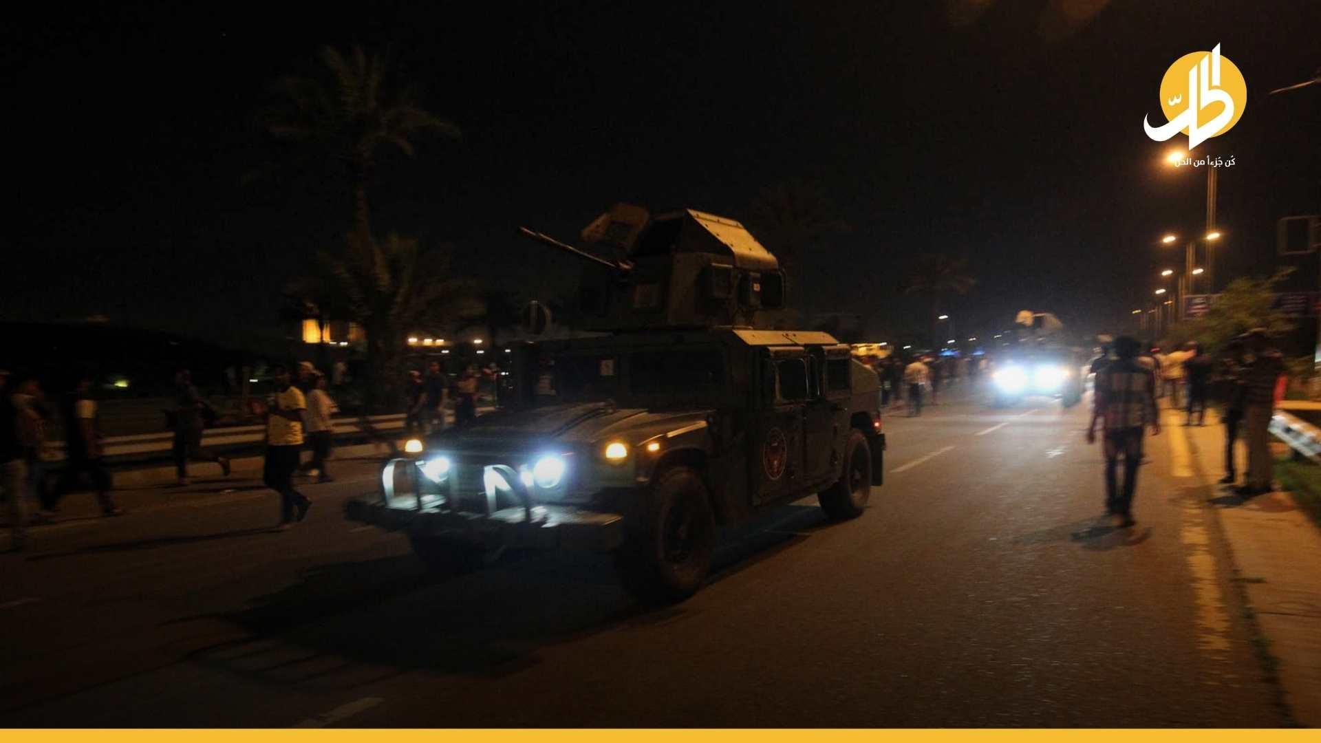 """ليلَة """"ناريّة"""" بين الأمن العراقي والميليشيات الولائية بالبصرة.. هذه نهايتها (فيديو)"""
