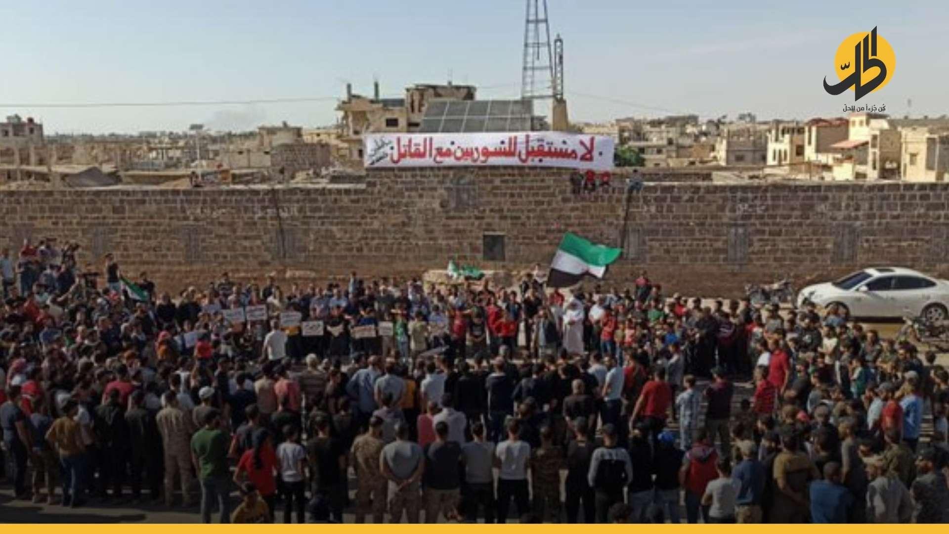 """(فيديو).. الانتقام من أهالي درعا .. رسالة """"الأسد"""" الأولى فور انتهاء الانتخابات"""
