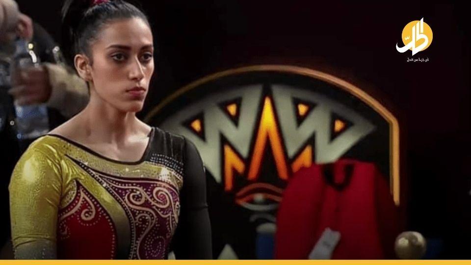"""""""نانسي طمان"""".. أول مصريّة تفوز ببطولة كأس العالم للجمباز"""