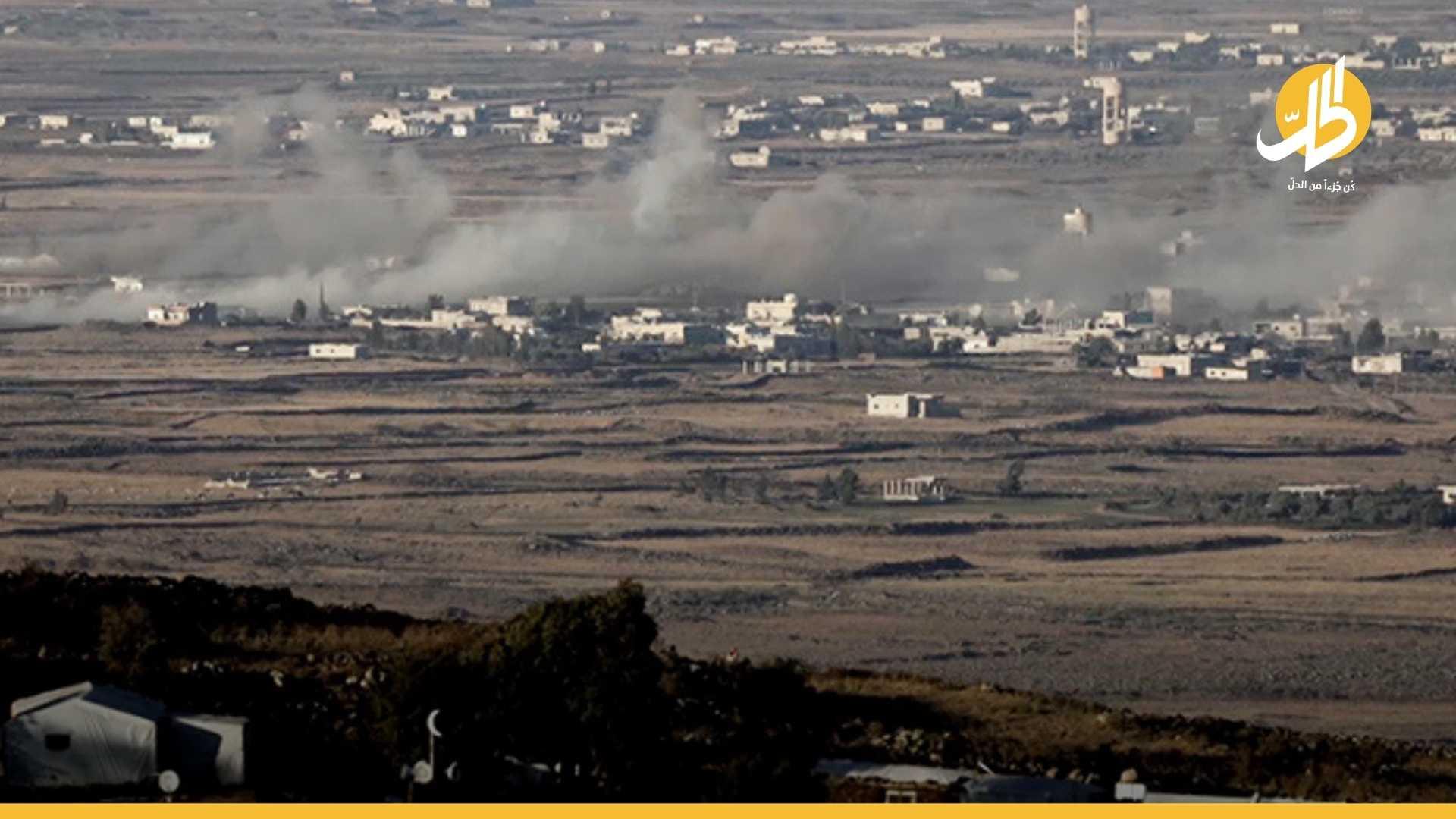 """بعد نشر صوره.. إسرائيل تستهدف نقطة عسكرية لقيادي في """"حزب الله"""" بالقنيطرة"""