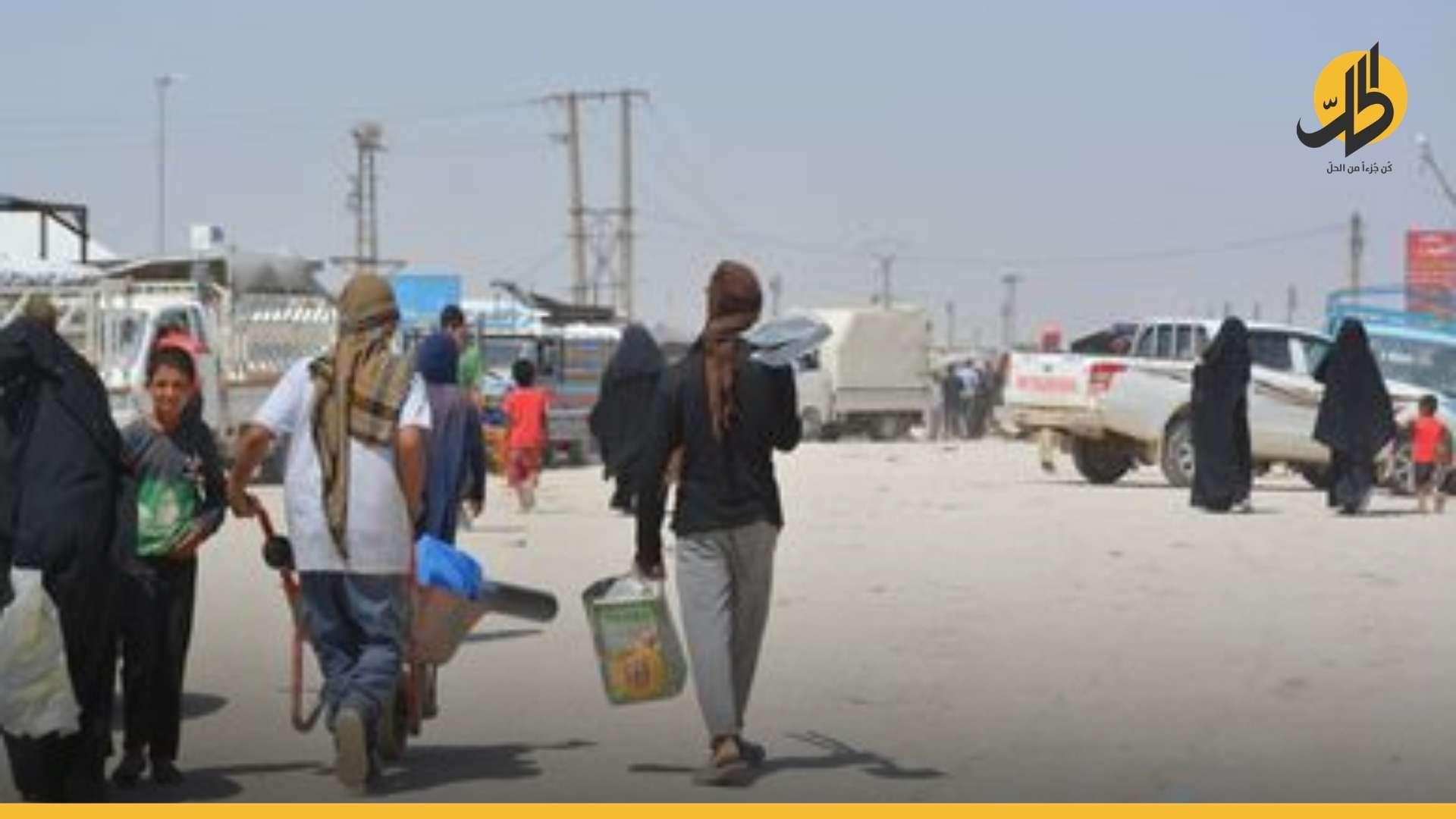 """في ثالث عملية اغتيال خلال 4 أيام.. مقتل لاجئة عراقية في مخيم """"الهول"""" بالحسكة"""