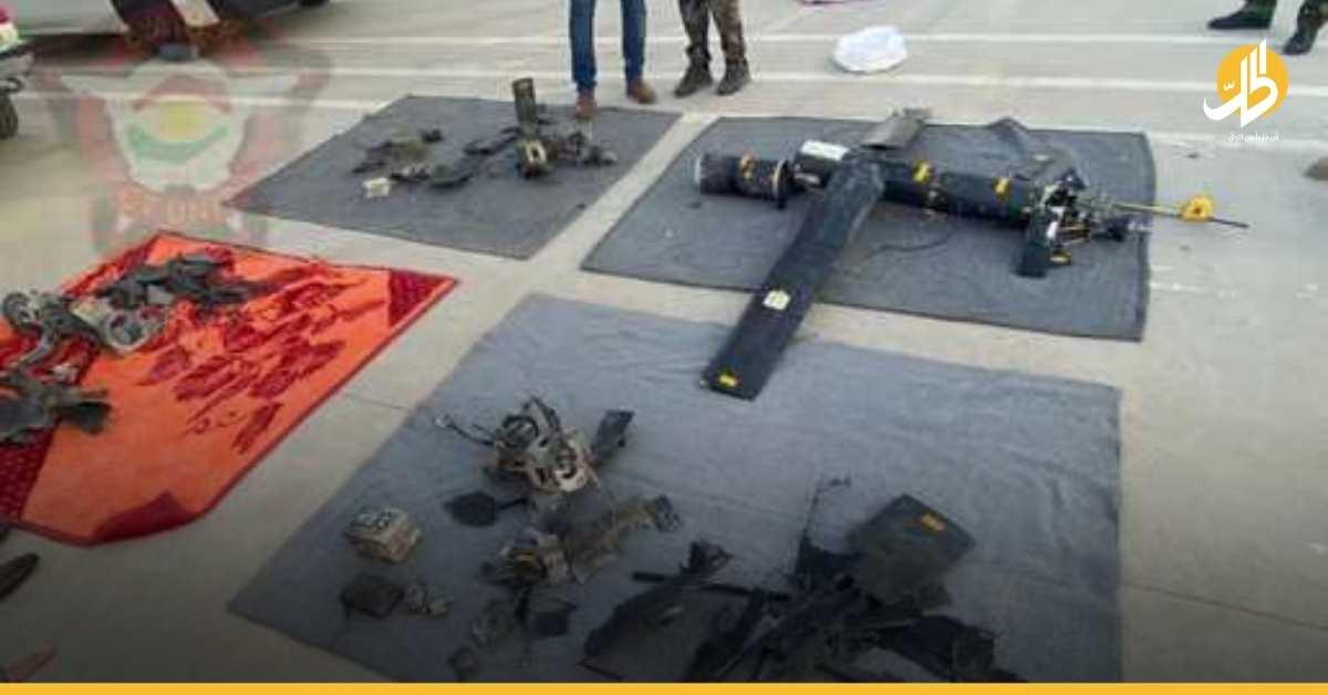 عبارات تستخدمها الميليشيات مكتوبة على الطائرات المسيّرة.. الكشف عن تفاصيل هجوم أربيل