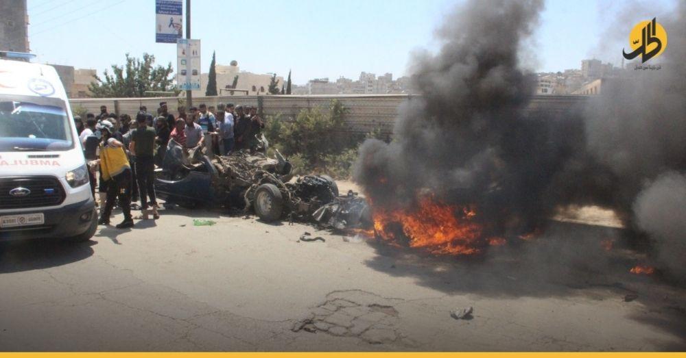 ضحايا مدنيّون بانفجار ضرب مدينة الباب شرقي حلب.. من المسؤول عن الانفلات الأمني؟