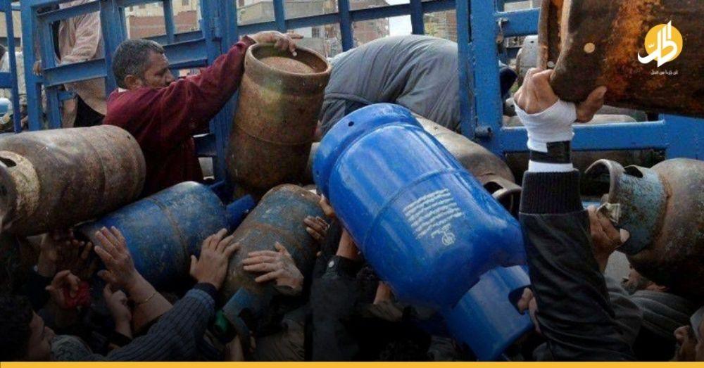 راتب شهر ونصف لتأمين جرة غاز للطبخ في سوريا!