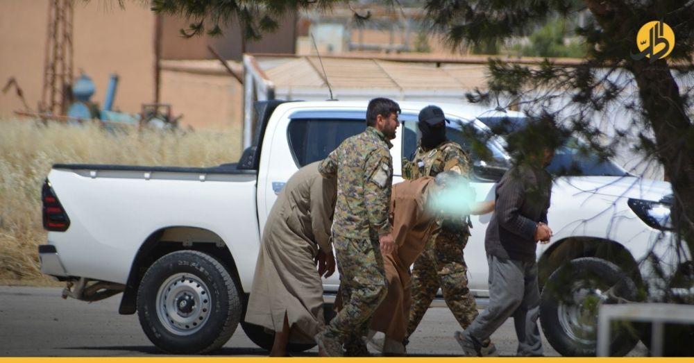 """""""قسد"""" تعلن اعتقال عضوٍ محترف في خليةٍ لـ «داعش» بريف الحسكة الجنوبي"""