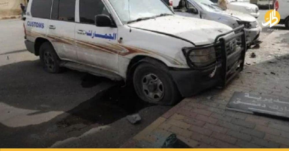 تزامناً مع فتح ملفات فساد.. حريقٌ يلتهم جمارك دمشق والمدير يتّهم «عقب سيجارة»