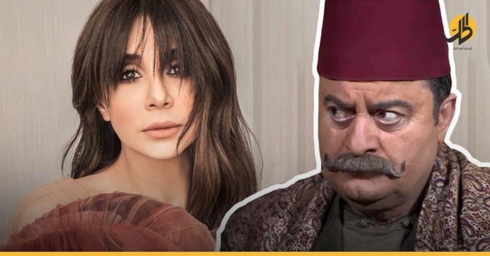 """""""كاريس بشار"""" تفتح النار على رئيس نقابة الفنانين السوريين """"زهير رمضان"""" (فيديو)"""