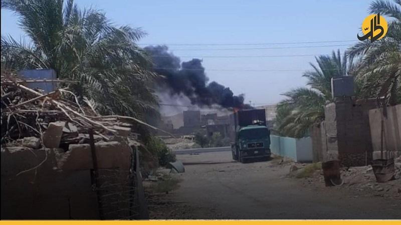 """قصف صاروخي جديد على قاعدة """"عين الأسد"""" العراقية"""