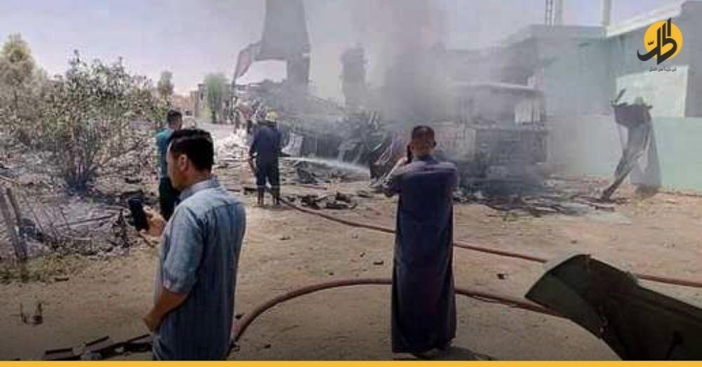 """احتراق مسجد و4 منازل وتفاصيل أخرى.. القصّة الكاملة لأضرار قصف """"عين الأسد"""""""