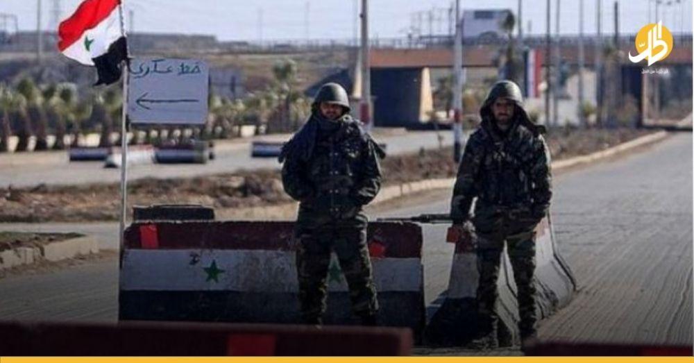 بعد أسبوعين من المنع.. حواجز حكوميّة على طريق دمشق تسمح بمرور المسافرين الكُرد