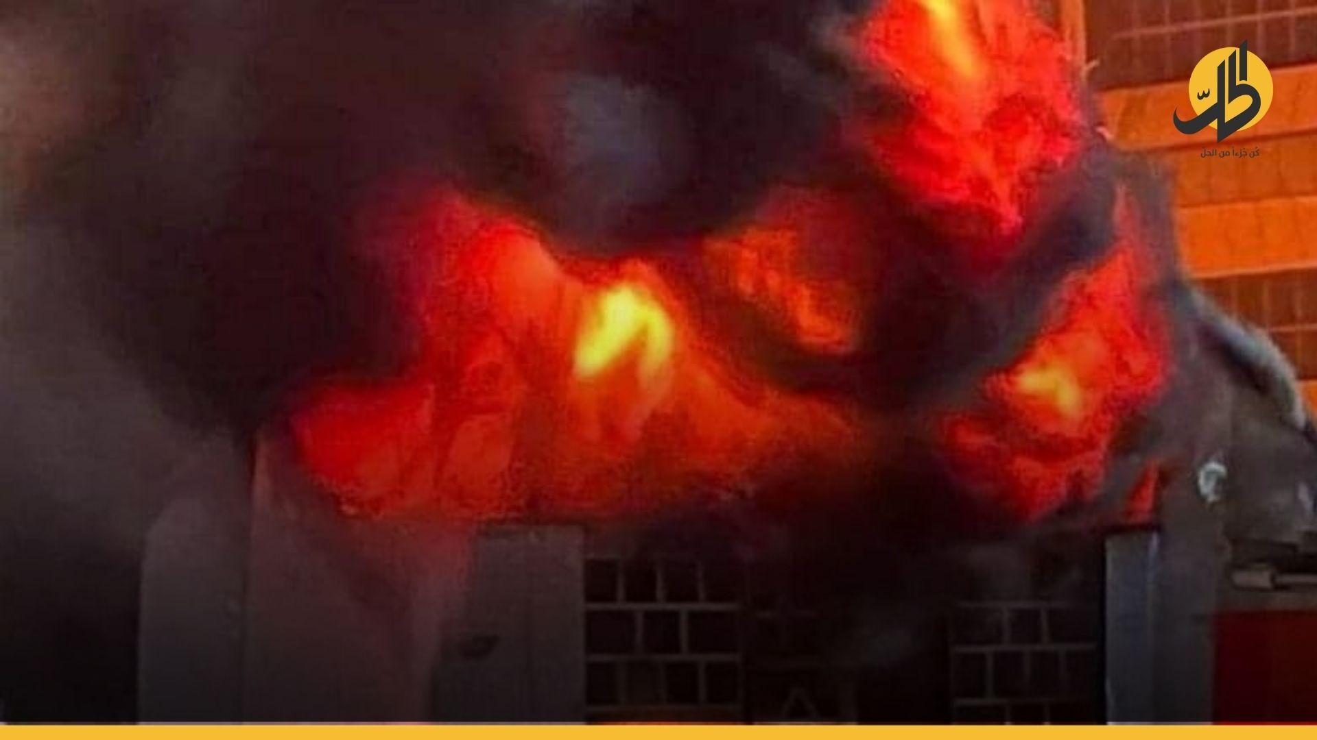 """تفاصيل """"مؤلمة"""" عن حريق مستشفى الحسين في الناصرية.. """"دُفنوا أحياء"""""""