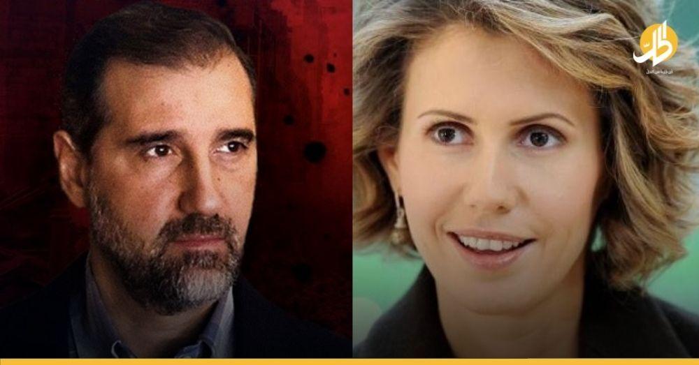 """هل تخلّصت """"أسماء الأسد"""" من """"رامي مخلوف"""" بالضربة القاضية؟"""