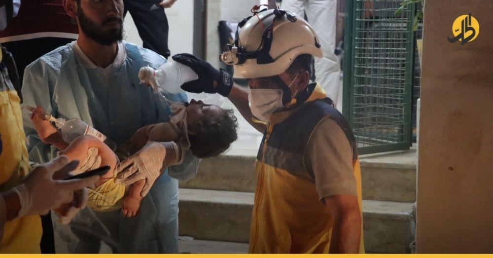 أكثر من 150 ضحية خلال شهرٍ واحد.. دمشق وموسكو تكثّف هجماتها على مناطق «خفض التصعيد»