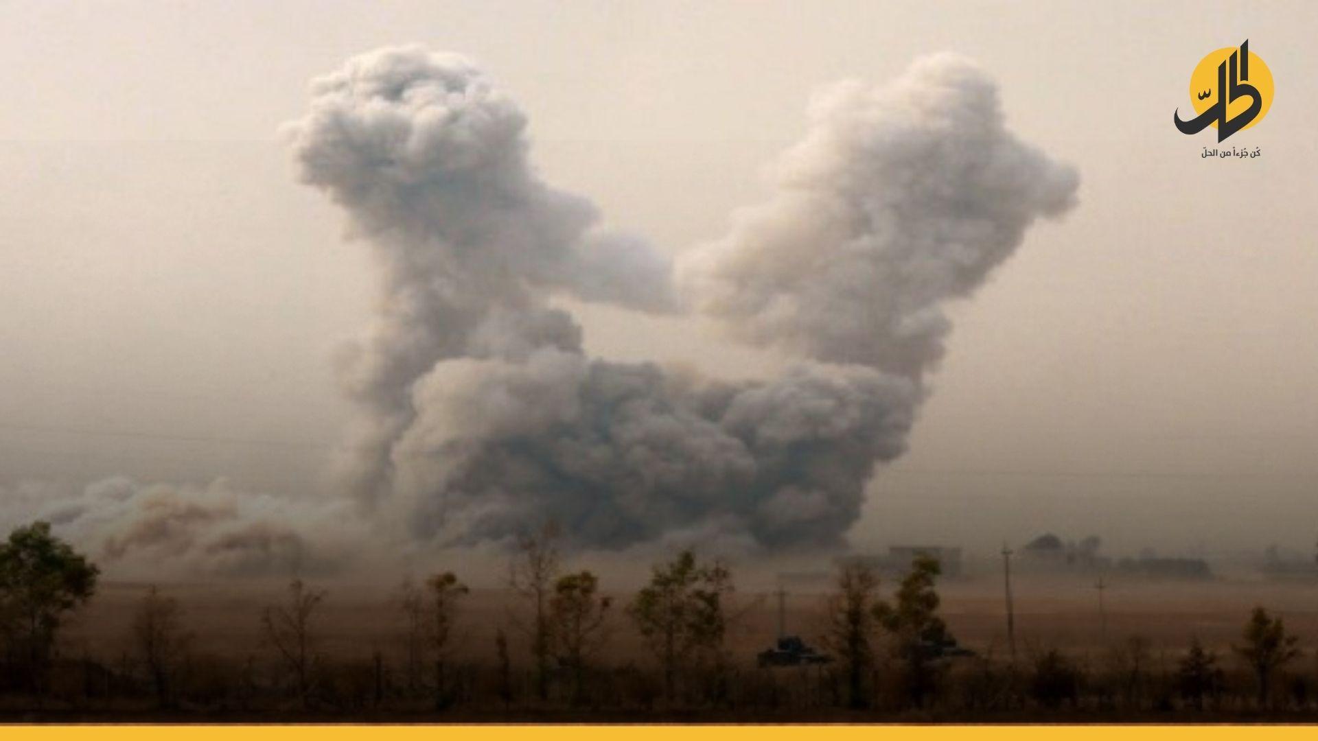 """ضربات جوية """"أميركية"""" على مواقع الميليشيات عند الحدود العراقية السورية"""