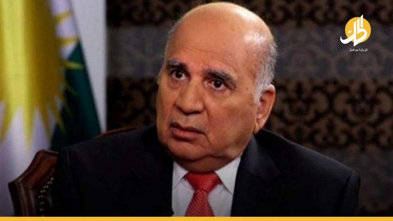 تمهيداً للحوار الاستراتيجي.. وزير الخارجية العراقي يصل على رأس وفد تفاوضي إلى واشنطن