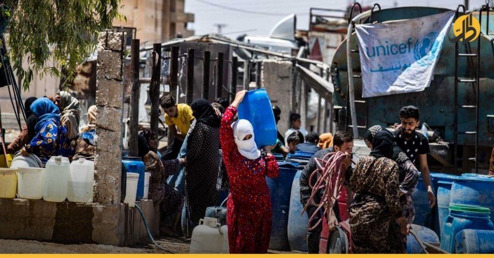 لبنان.. يونيسيف تحذر من انقطاع مياه الشرب عن مليون لاجئ سوري