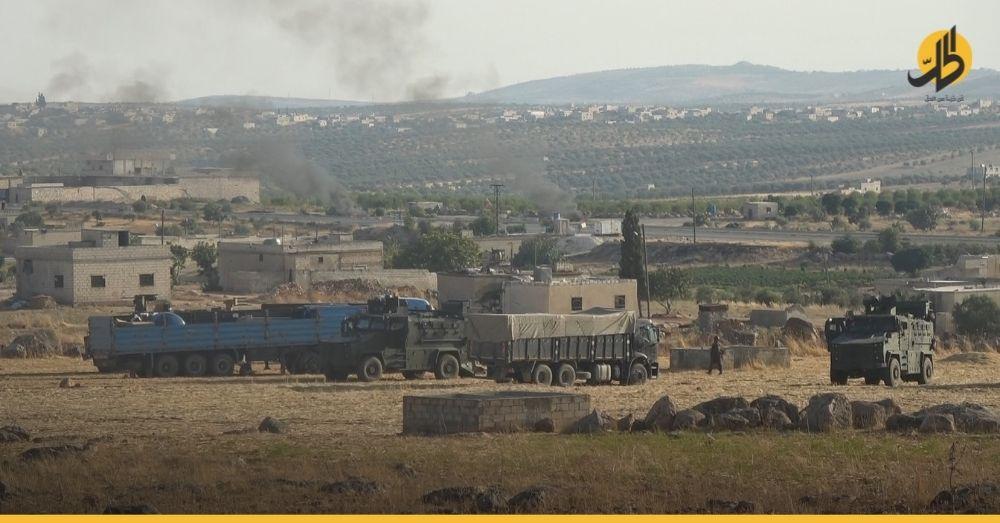 تركيا تعزز قواعدها العسكرية شمالي سوريا تزامناً مع قصفٍ للقوات النظامية وروسيا