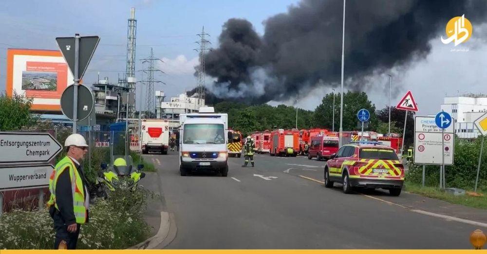 (فيديو)- انفجارٌ داخل مجمع كيماويات في مدينة ليفركوزن الألمانية