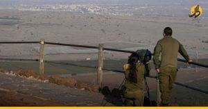 فتاة إسرائيلية حدود سوريا