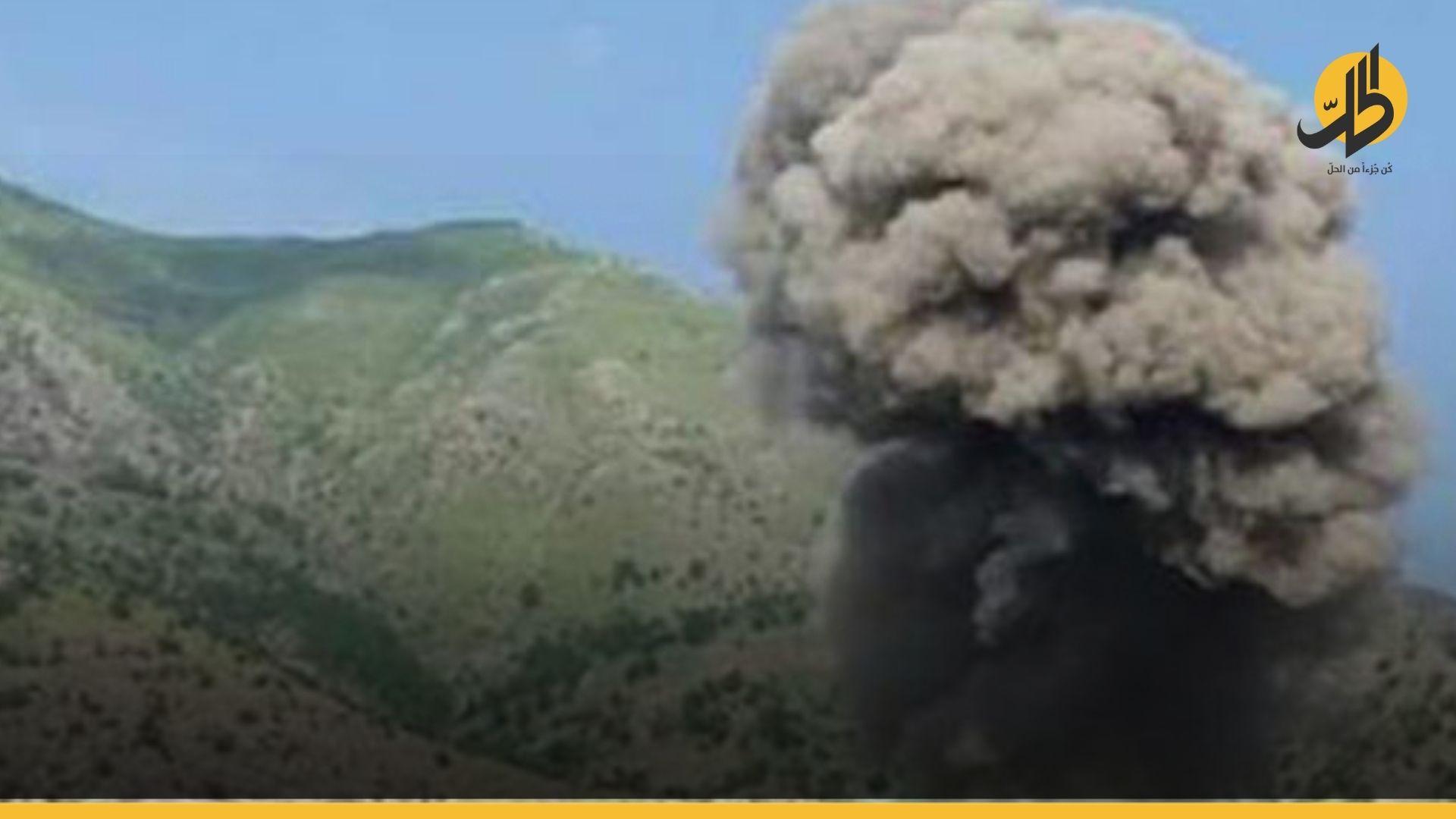 قصفٌ تركي على مدينة دهوك بإقليم كردستان العراق