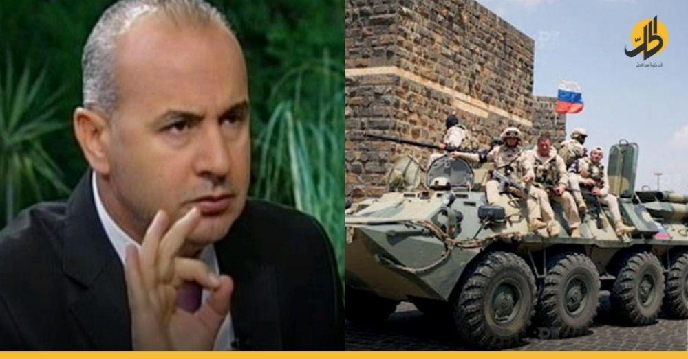 """""""خالد العبّود"""" يفتح النار على روسيا ويتهمها بدعم مقاتلي المعارضة في درعا!"""