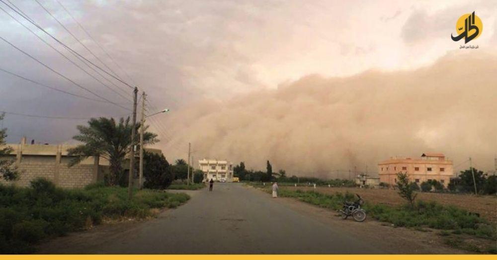 عاصفة غبارية تتسبب بوفاة رجل مسن وعشرات الإصابات في دير الزور