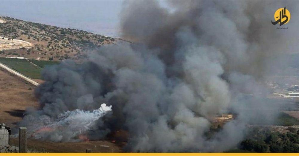 """""""حزب الله"""" يتبنى استهداف مواقع إسرائيلية في مزارع """"شبعا"""""""