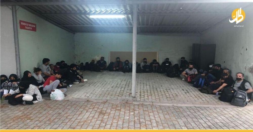 خفر السواحل التركي يعتقل 100 لاجئ سوري في ولاية إزمير