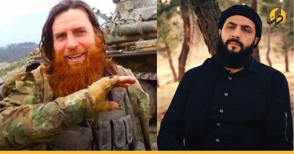 """«لا تحاولوا إدخالنا في لعبتكم القذرة».. """"الشيشاني"""" يردُّ على """"الجولاني"""" ويدحض اتهامات «تحرير الشام» ضده"""