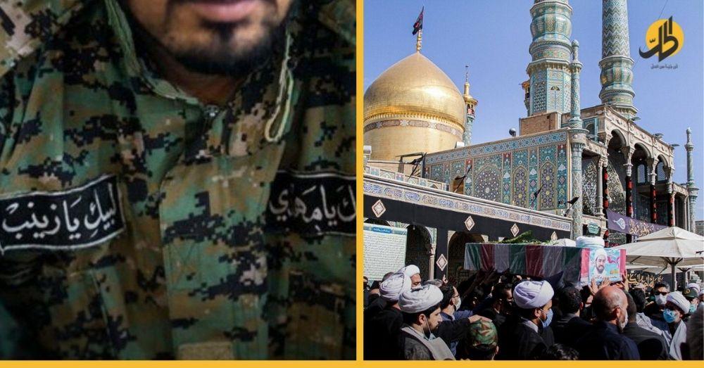 بعد 6 سنوات من مقتله في درعا.. طهران تشيّع أول رجل دين إيراني