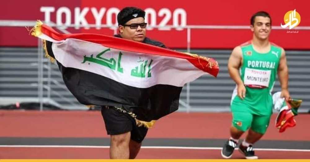 """العراق يكرم """"جراح نصار"""" بـ 3 جوائز لإنجازه في بارالمبياد طوكيو"""