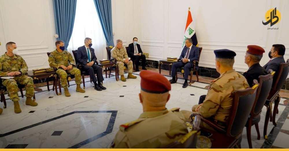 """""""الكاظمي"""" و""""ماكنزي"""" يبحثان انسحاب القوات الأميركية من العراق.. التفاصيل الكاملة"""