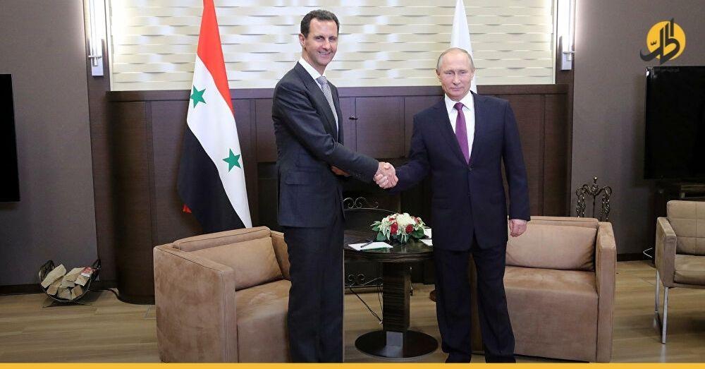 """(فيديو) بدون إعلان مسبق.. """"بوتين"""" يستقبل """"الأسد"""" في روسيا وينتقد نشر القوات الأجنبية في سوريا"""