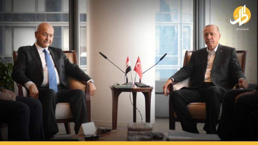 """الجمعية العمومية تجمع الرئيس العراقي و""""إردوغان"""": تأكيد على احترام سيادة الدول"""