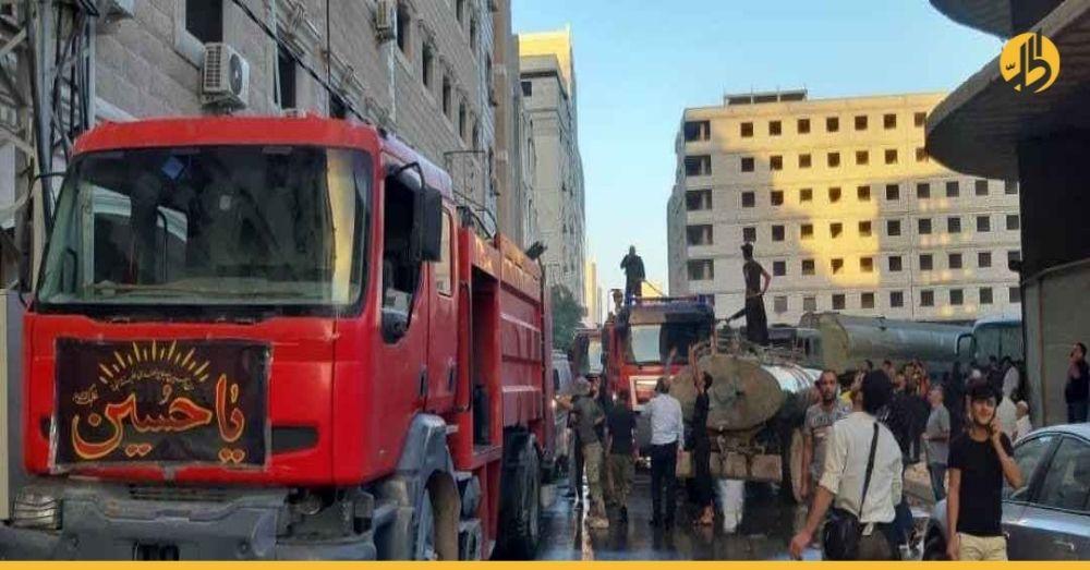 """دولة عربية تعلن عن إصابة عدد من مواطنيها بحريق فندق """"السيدة زينب"""" بدمشق"""