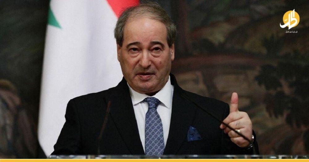 """""""مقداد"""" يدعو مجلس الأمن بالتدخل لوقف الانتهاكات التركية على الأراضي السورية"""