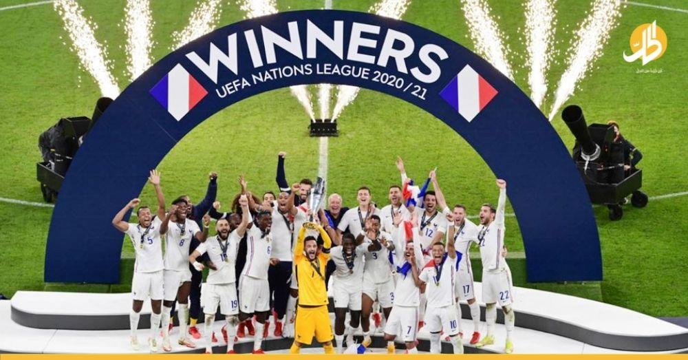 """هدف """"مبابي"""" يثير الجدل في بطولة دوري الأمم الأوروبية"""