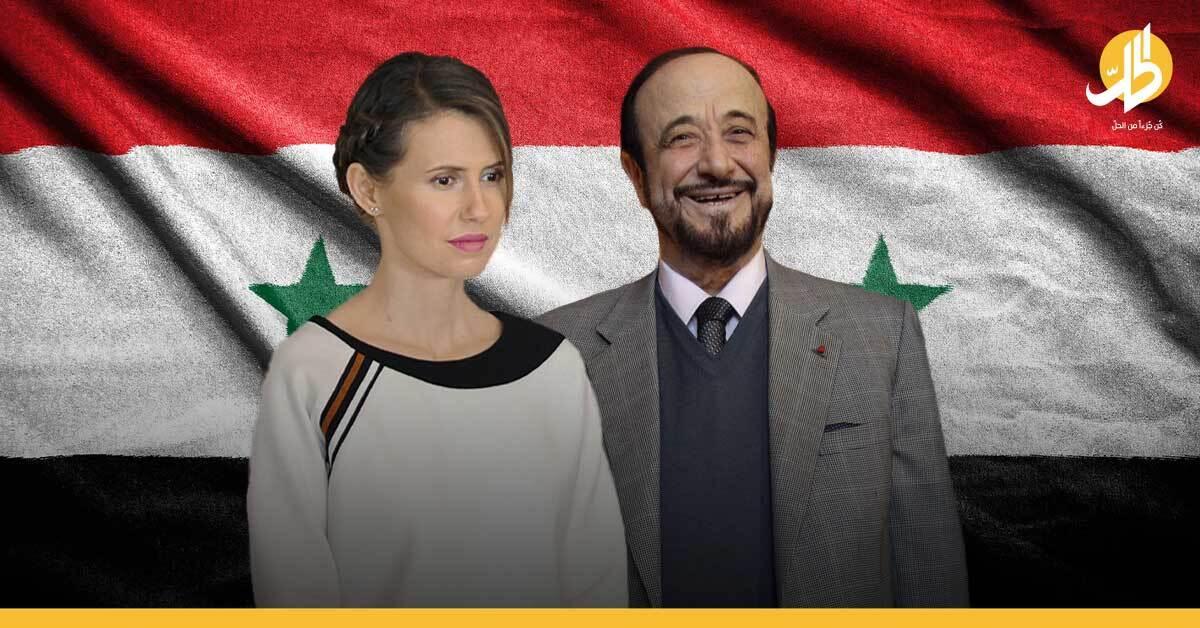 رفعت الأسد في سوريا: معلومات جديدة عن دور ابنه سومر في تحدي أسماء الأسد