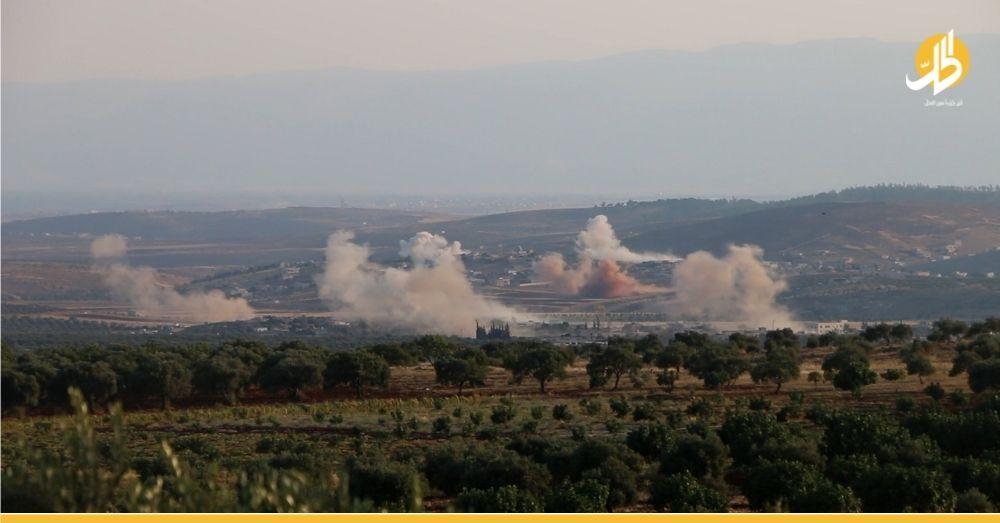 جرحى أطفال بقصفٍ للقوات الحكومية على ريف حلب الغربي