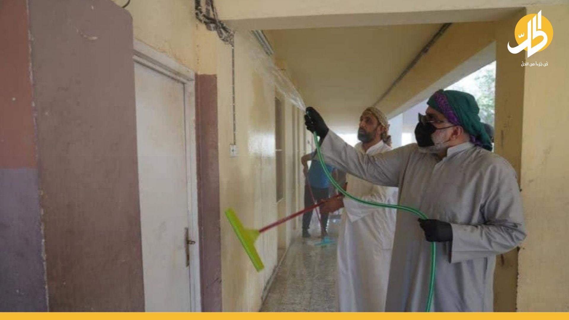 مقتدى الصـدر يشارك بحملة لتنظيف المدارس والانتقادات تلاحقه – (صور)