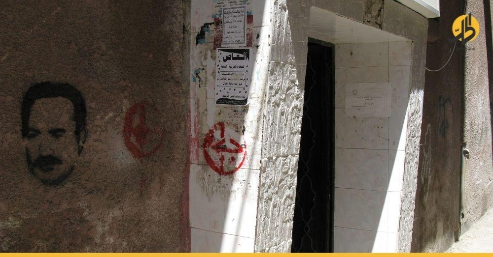 """""""أونروا"""" تضع إشارات على جميع المباني السكنية في مخيم """"اليرموك"""".. فما دلالاتها؟"""