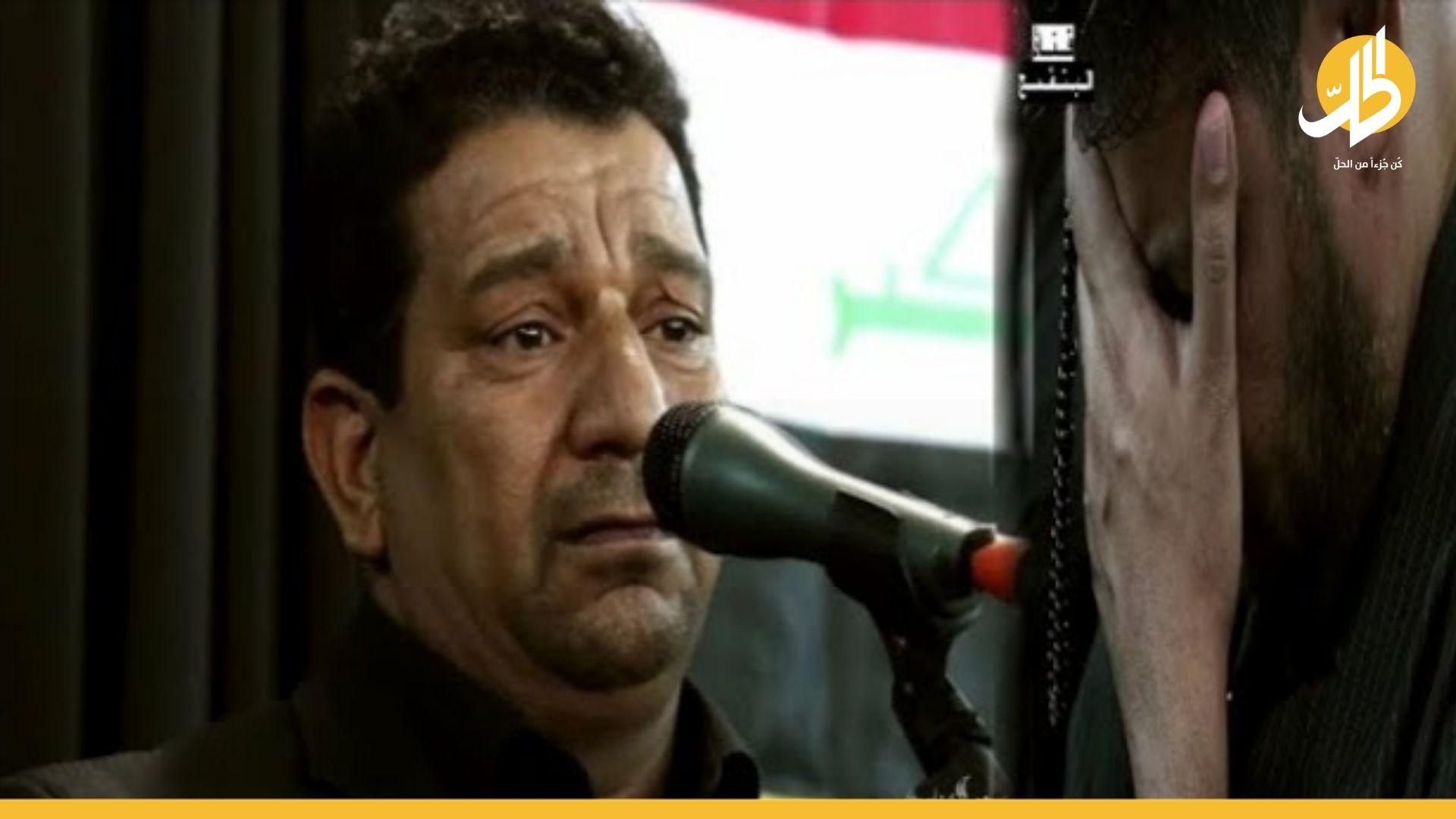 نجل المرجع السيستاني يشارك بتشييع جثمان سمير صبيح – (فيديو)