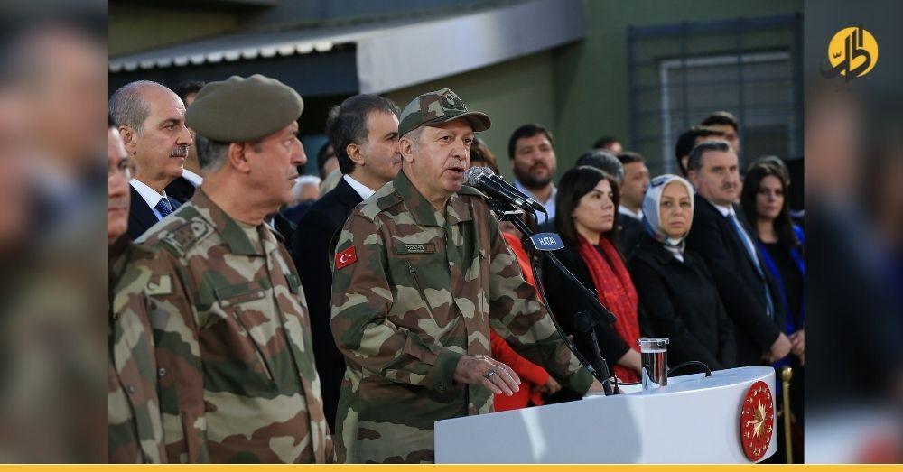 """14 سؤال إلى أردوغان"" حزب تركي يعارض تواجد قوات بلاده في سوريا"
