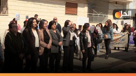 صورة من النشاطات النسوية في القامشلي